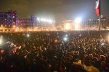La sociedad Mexicana exige el esclarecimiento de la desaparición de los 43 normalistas, de Ayotzinapa.